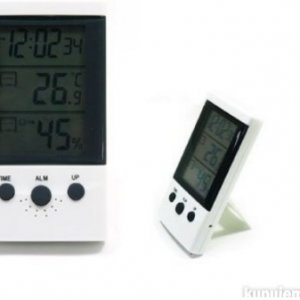 Digitalni termometar, sat, alarm - WSD-2 2