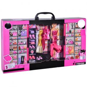 Garderober za lutke Mannequin - set