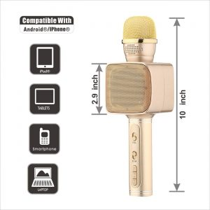 Magic Karaoke - Bluetooth Mikrofon Sa Integrisanim Zvucnikom 2