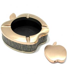 Pepeljara apple + upaljac zlatna 2