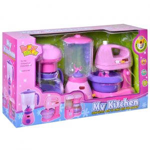 Set igrački - mikser, blender, kafe aparat