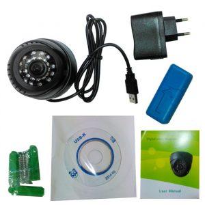 Sigurnosna kućna kamera -DVR Dome 3
