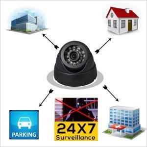 Sigurnosna kućna kamera -DVR Dome 2